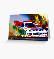 GTX Dragster Greeting Card