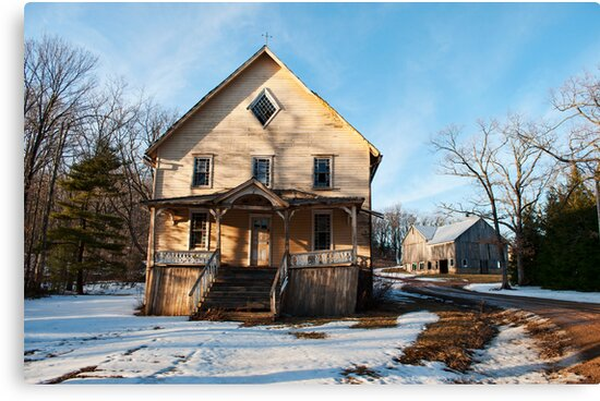 old building  by Penny Fawver