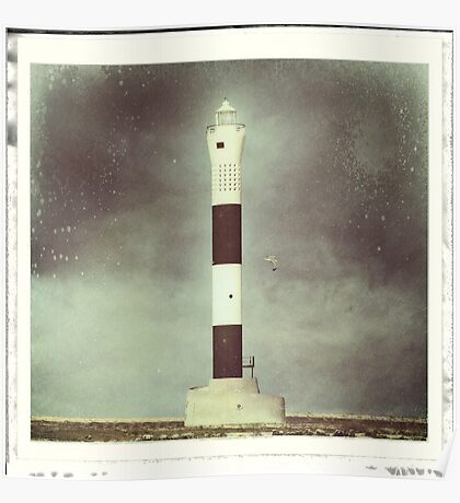 Dungeness 'New' Lighthouse Poster