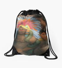 light and shade and colors - luz y sombra y colores Drawstring Bag