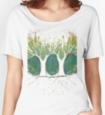 Two Worlds Women's Relaxed Fit T-Shirt