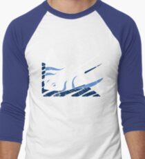 Blue Stingrays Men's Baseball ¾ T-Shirt