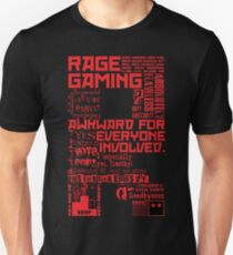 Rage Medley - Red Unisex T-Shirt