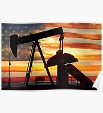 American Oil  Poster