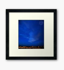 ©HCS Blue Genius Framed Print