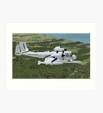 Grumman OV-1 Mohawk Art Print
