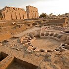 Dig Outside Temple of Amun re Egypt by renprovo