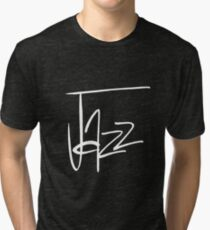 Jazz (reversed) Tri-blend T-Shirt