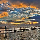 North Narrabeen Pool Sunrise by Doug Cliff