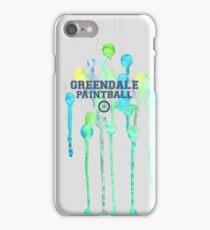 Community: Greendale Paintball  iPhone Case/Skin
