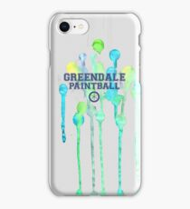 Community: Greendale Paintball  iPhone Case/Skin