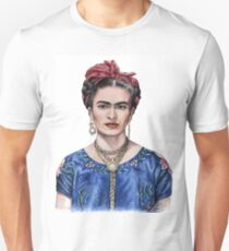 Hommage to Frida Kahlo Unisex T-Shirt