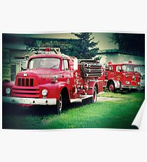 FireEngine Red Poster