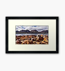 The Hazards,Tasmania Framed Print