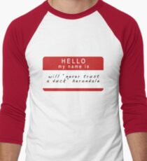 The Infernal Devices: Will's Name (Ver 1) Men's Baseball ¾ T-Shirt