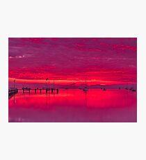 """""""Corio Twilight Reflections"""" Photographic Print"""