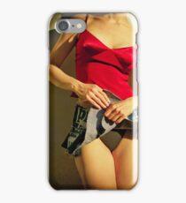 Pretty Vacant Vintage Vantage iPhone Case/Skin