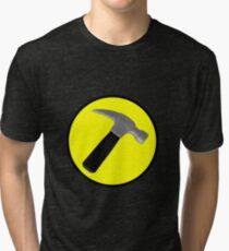 Captain Hammer Logo  Tri-blend T-Shirt