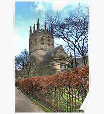 Merton College Chapel Oxford Poster