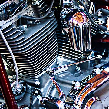 Harley engine by htrdesigns
