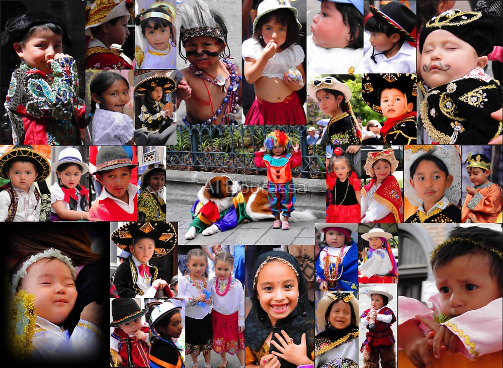 Pase Del Nino 2011 Collage by Al Bourassa