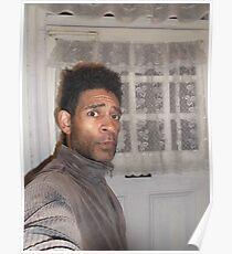Self-portrait/(2 of 2) -(100313)- digital photo Poster