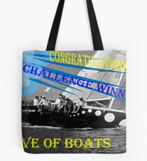 Challenge Winner Tote Bag