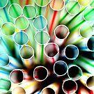 Straws  by Allison  Flores