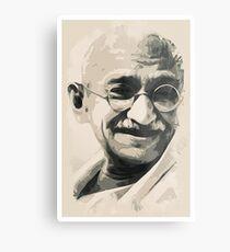 Ghandi smile Metal Print