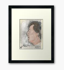 """Goodnight Mr Sherlock Holmes"" Framed Print"