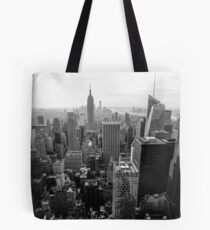 The top of The Rock Tote Bag