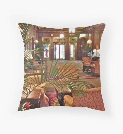 Parker House Hotel Throw Pillow