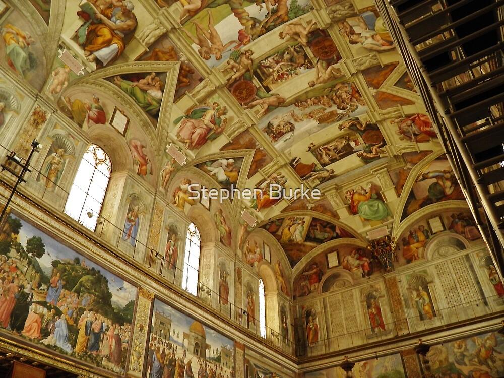 The Sistine Chapel by Stephen Burke