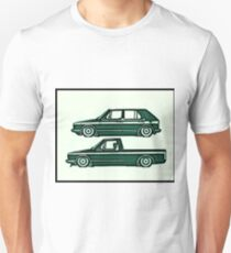 VW Golf & Caddy Unisex T-Shirt