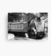A4 Locomotive 'Sir Nigel Gresley' Canvas Print