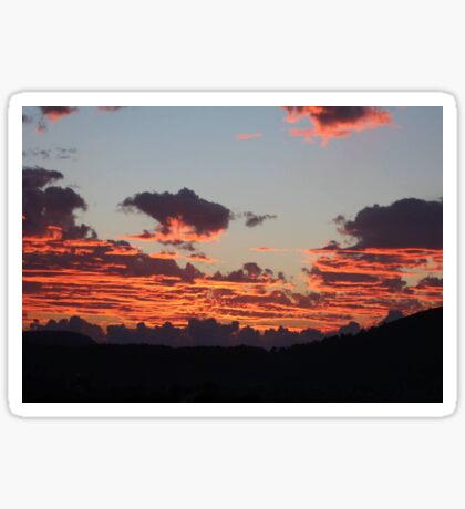 Aegean Sunset Sticker
