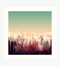 Welcome to NY Art Print