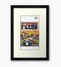 F-Zero Nintendo Famicom Box Art (NES) Framed Print