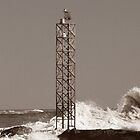 Rough Seas at the OC Inlet by Rob Diffenderfer