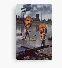 M Blackwell - Work Hazards Canvas Print