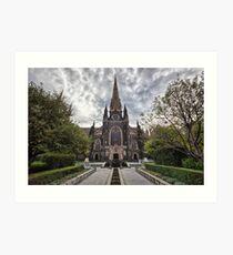 St Patrick's Cathedral • Melbourne Art Print