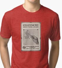 Advertisement for artist's paper 1914 Tri-blend T-Shirt