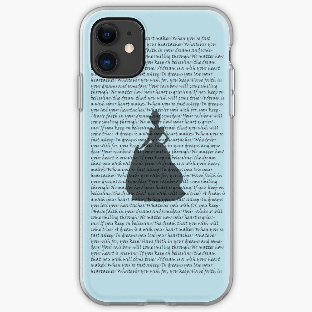 """""""A Dream is a Wish Your Heart Makes"""" iPhone Case & Cover ... A Dream Is A Wish Your Heart Makes Shirt"""