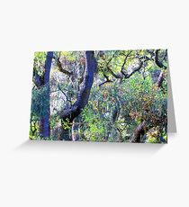Fauvist Forrest Greeting Card