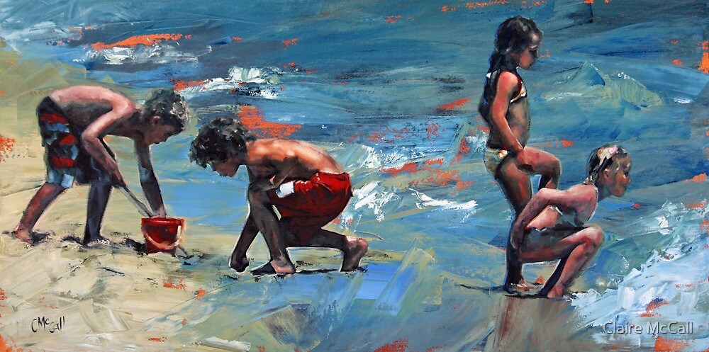Summer Days IV by Claire McCall