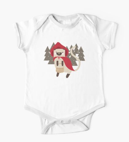 Little Red Riding Hood Kids Clothes