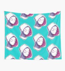 Spidergwen Punk Rocker Wall Tapestry