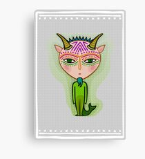 capricorn zodiac sign Canvas Print