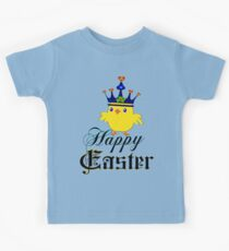 Funny easter gifts for mens clothes kids babies clothes redbubble happy easter blue eyed irish king chicken clothing stickers negle Gallery