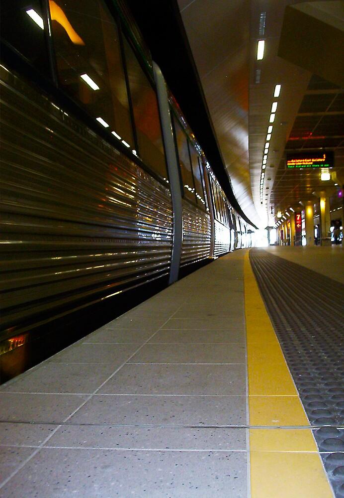 Train 12 03 13 - Five by Robert Phillips